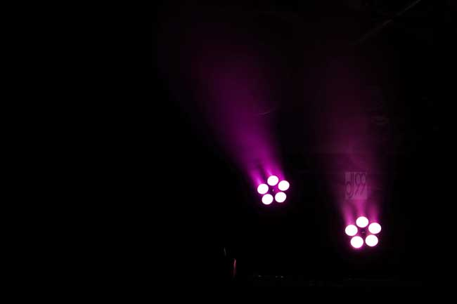 Floorspot rot DJ99, LED