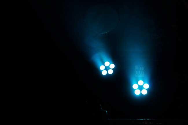 Floorspot türkis DJ99, LED