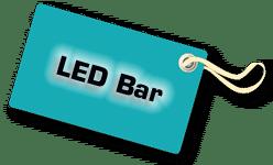 LED Bar, DJ Technik